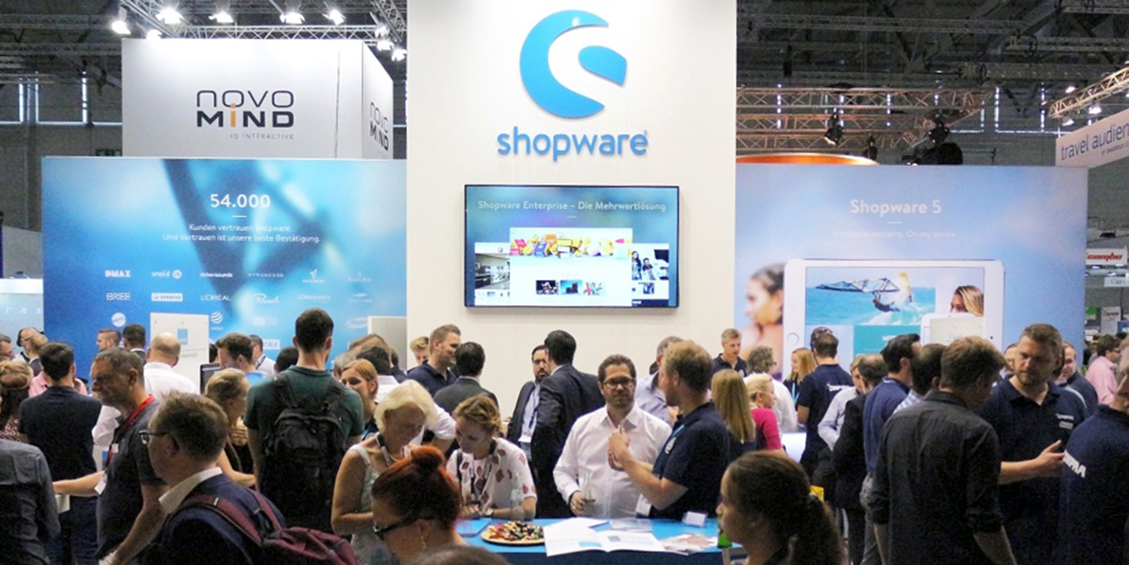 Shopware mit 10 Partnern am Start bei der Internet World Messe 2017